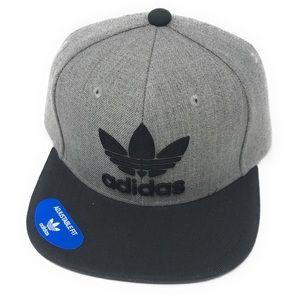 Adidas Men's Originals Snapback Flatbrim Cap,
